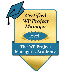 Certified WP Project Manager - Level 1